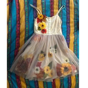 Dresses & Skirts - Fall cute custom tulle prom party dress